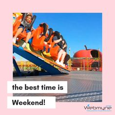 Life was going so hard! For shaking and chilling us the weekend comes again! Let's ensure the maximum pleasure from the highly expected day. Have a blessed weekend!