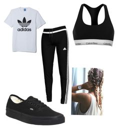 """Adidas"" by ashleighm2002 on Polyvore featuring adidas, Calvin Klein and Vans"