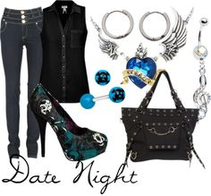 """Date Night"" by littlemisstoxin on Polyvore"
