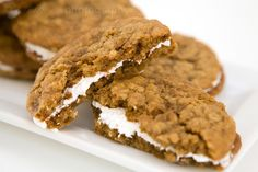 Homemade Oatmeal Cream Pies: very good, the cookies are a bit touchy, but after the first batch it's easy to figure out