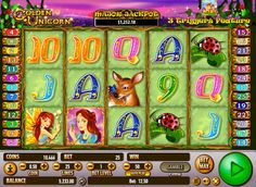 Golden Unicorn - http://777-casino-spiele.com/spielautomat-golden-unicorn-online-kostenlos-spielen/