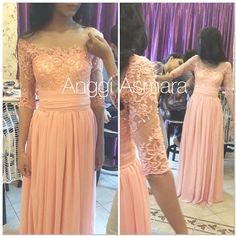 lacy dress by anggi asmara