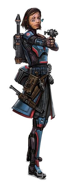 Jinda Vrox From the now abandoned game Battle of the Sith