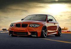 Orange BMW