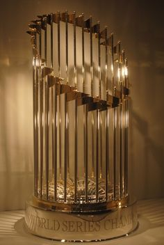 World Series Trophy, we've got a few of these.