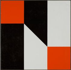 Frederick Hammersley, Pact, #4 1978, oil on linen, 45 x 45 inches