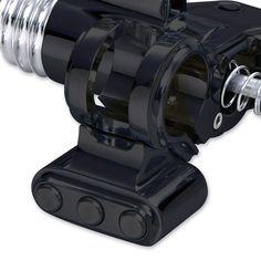 Arlen Ness Retro Handlebar Controls 3-Button Switch Block