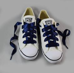Ivory Lace Wedding Converse -Ivory Lace Bridal Converses --Ivory Lace Converse -- Wedding Tennis shoes For the girl who wears her Converses to every occasion.... why shouldnt you wear them to your wedding? Skip down the aisle in comfort in these beautiful white Converses adorned
