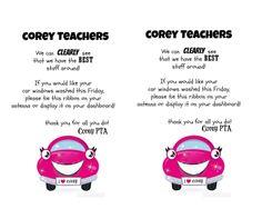 Teacher Appreciation .... Act of Service  Wash Teachers Windows