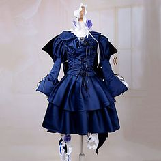 Cosplay Costume Inspired by Pandora Hearts B-Rabbit Alice – USD