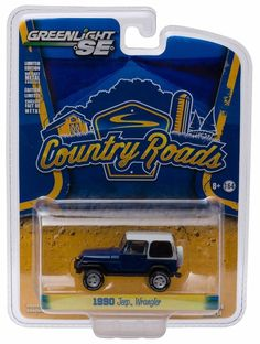 Greenlight Country Roads Series 14 * 1990 JEEP WRANGLER - NEW #GreenLight #Jeep