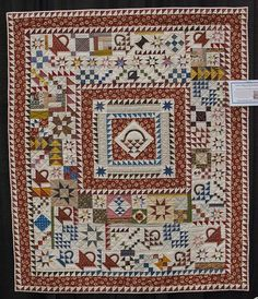 Spontaneity in Medallion Quilts