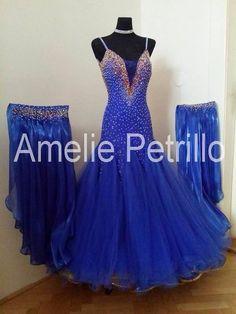 Amelie Petrillo ballroom dress