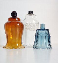 Vintage Glass Votive Holders Peg Leg Sconce by SPARKLESandSASS, $12.50