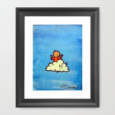 Enlightenment Framed Art Print by Framed Art Prints, Painting & Drawing, Art Work, My Arts, Drawings, Products, Artwork, Work Of Art, Sketches