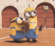 bob, kevin, and minion image Image Minions, Minions Images, Funny Minion Pictures, Emoji Images, Cute Minions Wallpaper, Funny Iphone Wallpaper, Cute Cartoon Wallpapers, Aesthetic Iphone Wallpaper, Minions Friends
