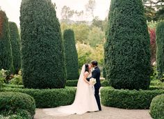 Napa Wedding at Beaulieu Garden by Lisa Lefkowitz  Read more - http://www.stylemepretty.com/2012/06/12/napa-wedding-at-beaulieu-garden-by-lisa-lefkowitz/