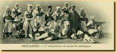Compagnie saharienne en tenue de campagne