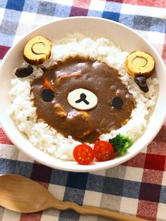 relakkuma sheep curry and rice
