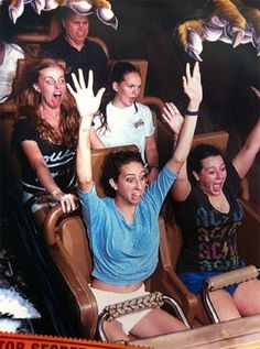 20 People Who Are Really, Truly Scared On A Roller Coaster: 20 of the Funniest Roller Coaster Reaction Faces