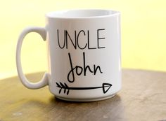 Uncle Mug Mug for Uncle Pregnancy Announcement by ShopFourArrows