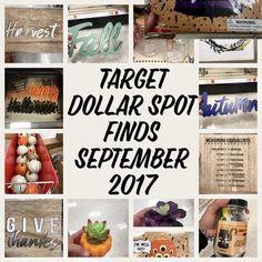 Target Dollar Spot Finds September 2017