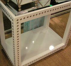 Ikea Hack - Nailhead side table