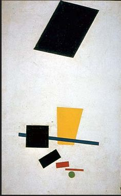Kazimir Malevich - Suprematism: Painterly Realism of a Football Player, Color Masses of the Fourth Dimension, 1915