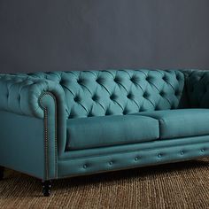 Sofa in Teal