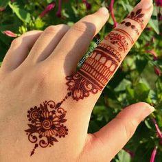 Pretty Henna Designs, Latest Henna Designs, Henna Tattoo Designs Simple, Finger Henna Designs, Mehndi Designs Book, Mehndi Designs For Beginners, Mehndi Design Photos, Mehndi Designs For Fingers, Dulhan Mehndi Designs