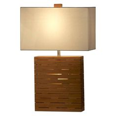 Have to have it. Nova Lighting Rift Reclining Table Lamp - $227.7 @hayneedle