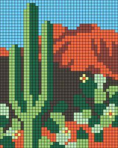 Mochila bag/Сумки/Жаккард | VK Cross Stitch Art, Cross Stitch Designs, Cross Stitching, Cross Stitch Embroidery, Embroidery Patterns, Cross Stitch Patterns, Pixel Art Grid, Easy Pixel Art, Mises En Page Design Graphique