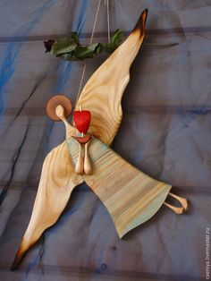 Купить Ангел надежды (с корабликом) - разноцветный, ангел, ангел-хранеитель…