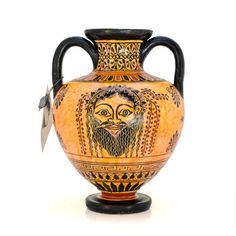 Attica black-figure amphora - dadart Greek Pottery, Black Figure, Corinthian, Mythical Creatures, 18th Century, Two By Two, Vase, Period, Magical Creatures