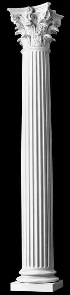 121-architectural-wood-columns-fluted-roman-corinthian-architectural-columns.jpg (578×2421)