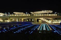 Station Nesselande by night