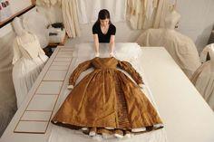 Queen Victoria's council dress