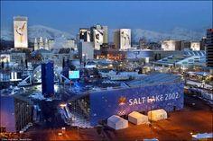 Salt Lake City, Utah February 2002 Winter Olympics.