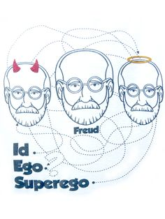 Freud's Id, Ego & Superego... I learned about this in more than one nursing class.