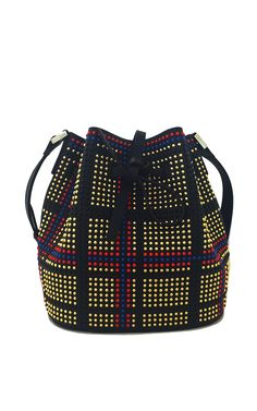 Daliah Bucket Bag by LES PETITS JOUEURS for Fall 2016