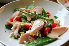 Mijn kookdagboek: Salade met gerookte forel