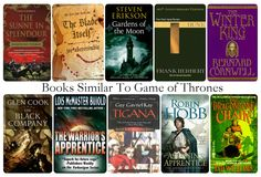 10 Books Similar To Game of Thrones