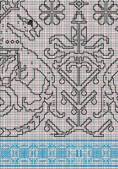 """working drawing 6 for Assisi embroidery design """"sea square"""""""