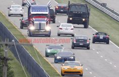 Transformers 4 spied filming at GM Proving Grounds, new Bumblebee Camaro caught [w/video]