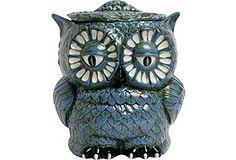 Ceramic Owl Cookie Jar Owl Cookies, Ceramic Owl, Cookie Jars, Statue, Ceramics, Owls, Weird, Ceramica, Pottery