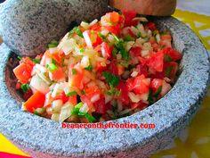 Pico de Gallo Chunky Mexican Salsa, by beaneronthefrontier.com