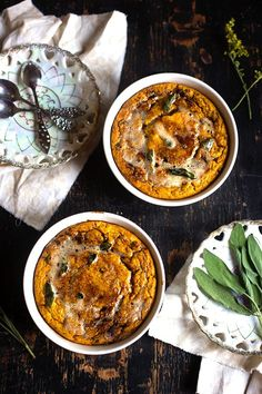 Pumpkin and Date Tart with Burnt Butter and Sage