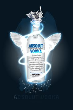 Love the visual consistency of absolut ads...