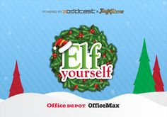 Elf yourself office depot Christmas Apps, Christmas Tunes, 12 Days Of Christmas, Christmas Ecards, Elf Dance, Elf Yourself, Dance Themes, Taylor Swift Videos, Coral Art