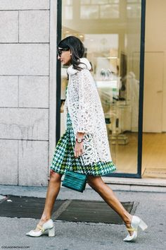 How to style green and white this spring.